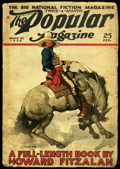 The Popular Magazine (March 20, 1926) by N.C. Wyeth