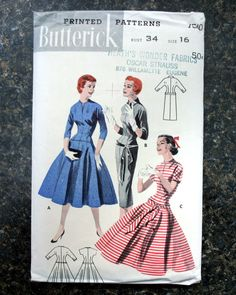 Butterick 7510: fantastic if you've got mega-foundations to wear underneath