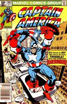 Captain America # 262 by Mike Zeck & John Beatty