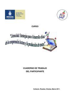 Literacidad estrategias para el desarrollo eficaz de la comprension lectora y la produccion de texto