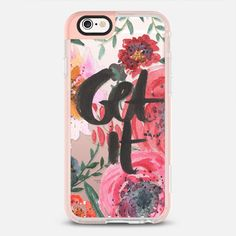 get it floral iPhone 6s case by A Life of Color | Casetify