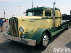 Trucks photos semi vintage