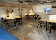 保护隐私也便于交流,Samuel Wilkinson 设计企业孵化器办公空间 | 理想生活实验室