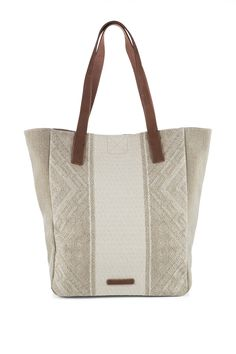 Esprit - Geweven shopper met een ethnic look kopen in de online shop