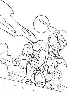 Teenage Mutant Ninja Turtles Ausmalbilder 24
