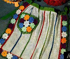 Dish Cloth Apron Pattern   Free Crochet Patterns