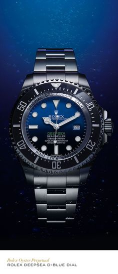 Rolex Deepsea 44 mm in 904L steel, with a D-Blue dial and Oyster bracelet…