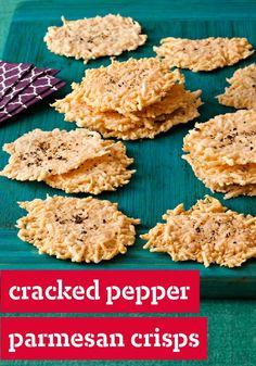 Pepper Parmesan Crisps — These Cracked Pepper-Parmesan Crisps ...