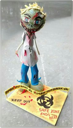 Fofucha zombie www.facebook.com/dondenacenmisuenos