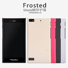 Nillkin Frosted Shield Hard Case Blackberry Z3- free anti gores -- Hanya Rp. 100.000,-