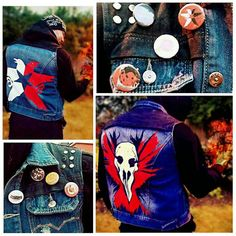 InFamous Second Son Delsin Rowe Jacket Evil by AuthenticityCosplay