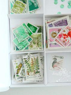 Box of stamps - Bohème circus