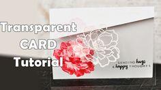 Transparent Card Tutorial by Evgenia Kovtun