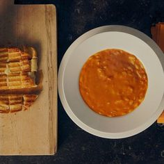 Easy Tomato Soup & Grilled Cheese Croutons |… | Barefoot Contessa