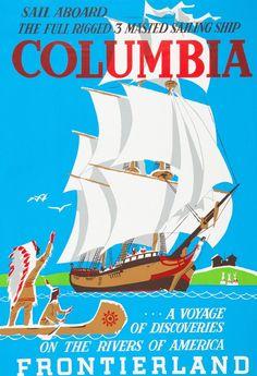 Sailing Ship Columbia; Frontierland; Disneyland