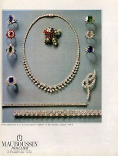 Mauboussin 1966 Rings Necklace