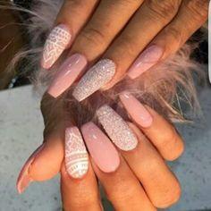 Imagem de nails, style, and pink