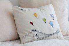 Bristol Cushion/Decorative Pillow/Throw Pillow by emilykatemakes, £30.00