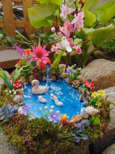TheTinyShinyCottage – Fairy Garden Pond,Fairy Pond, Miniature Pond, Fairy Garden… - All For Garden