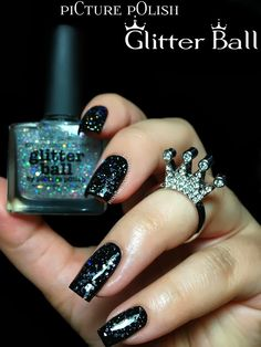 piCture pOlish Glitter Ball swatches & review!