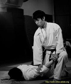 Aikido! I do Aikido, Taekwon-do, Hapkido,  Ju-jitsu and more....