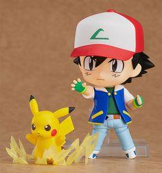 Pokemon - Ash & Pikachu - Nendoroid - Good Smile Company (Dez 2017) - SD-Figuren / Nendoroids - Japanshrine