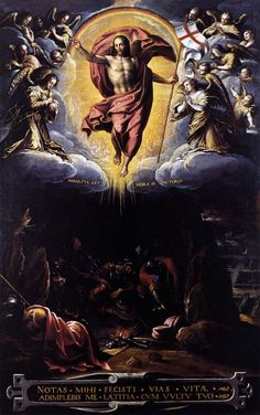 PASSIGNANO The Resurrection 1600-25 Oil on canvas, 112 x 70 cm Pinacoteca, Vatican
