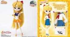 [BANDAI Shiba Koen uniform] Pullip Sailor Venus doll Sailor Moon Crystal #Bandai