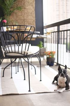 high rise patio ideas via @mystylevita