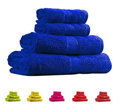 Trident Light and Vibrant Combed Cotton 4-Pieces (Bath