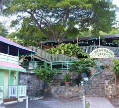Thursday night we'll have dinner at the Banana Deck in Cruz Bay