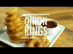 Receita de Onion Rings | Anéis de Cebola Crocante | Como Fazer - Gourmet a Dois - YouTube