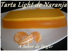 Tarta Light de Naranja (Thermomix)
