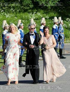 Pre Royal Wedding Dinner for Prince Carl Philip and Sofia Hellqvist, Stockholm, Sweden - 12 Jun 2015 Crown Princess Mette Marit of Norway, Ari Behn, Princess Märtha Louise 12 Jun 2015