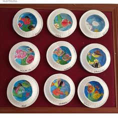 paper plate Aquarium craft (3) | Crafts and Worksheets for Preschool,Toddler and Kindergarten