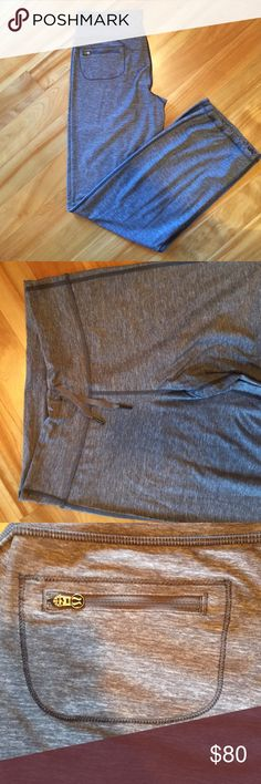 Lululemon pants Worn twice!  In excellent condition. I just never reach for them. No rip tag, but I believe these are size 10. The waist measures 15 inches. lululemon athletica Pants Track Pants & Joggers