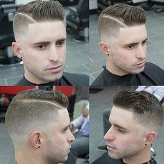 Modern haircut