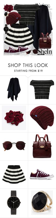 """""""SheIn"""" by sejla-berbic ❤ liked on Polyvore featuring Victoria Beckham, Anja, Acne Studios, Alexander McQueen, Keds, Ray-Ban, Mulberry, Converse, I Love Ugly and Express"""