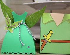 Caixinhas Peter Pan e Sininho