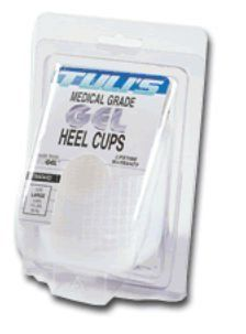 Pedifix P85L Tulis Gel Heel Cups - Size- Large -body weight over 175 lbs. by Pedifix. $21.62. Color may not be as shown. Innovative - will enhance your well being.. Shock-Absorbing Gel for Sore HeelsAbsorb shock and reduce heel pressure with these innovative gel heel cups. Just slip them into your shoes to ease discomfort from walking, running or standing and related arch ankle leg and back pain. These patented cushi