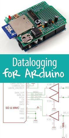 Logger Shield: Datalogging for Arduino | Arduino Raspberry