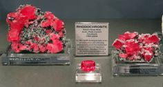 Rhodochrosite from the Sweet Home Mine in Colorado. Natural History Museum, Mineralogy, Gems And Minerals, State Art, Stones And Crystals, Sweet Home, Perfume Bottles, Colorado, Collection