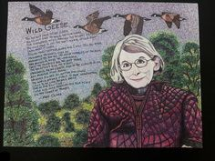 "Mary Oliver/ ""Wild Geese"", Spent 4 days drawing this and didn't get paid yet, WTF??? , Sharpie art, Steve Emig, Sharpie Scribble Style, Mary Oliver, Wild Geese, #steveemigart , #sharpiescribblestyle , #sharpieart , #Whitebearart Sharpie Drawings, Sharpie Art, Sharpie Markers, Mary Oliver, Winston Salem, Bear Art, Body Love, Outdoor Areas, Scribble"