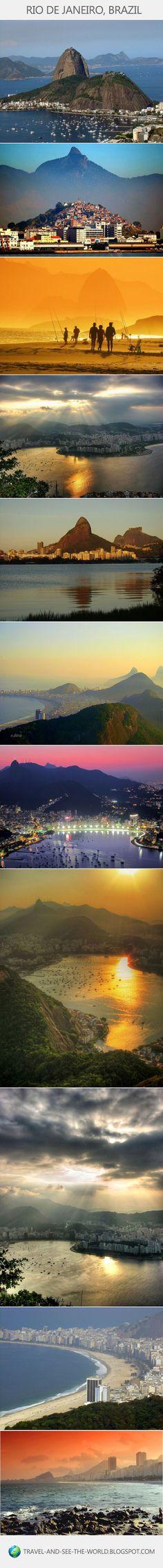 Travel and see the world: Rio de Janeiro, Brazil