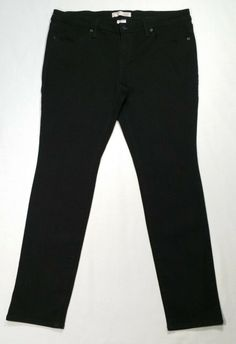 d1c1a17f399 No Boundaries Women Juniors Size 17 Skinny Jeans Low Rise Black Stretch  Cotton #NoBoundaries Clothing