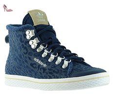 adidas Originals Honey Hook W Femmes Sneaker Bleu S77425, Taille:44 - Chaussures adidas (*Partner-Link)