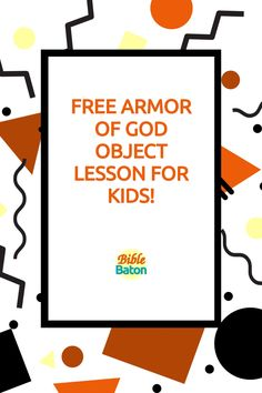 Capture kids' attention with this crazy object lesson involving trash bags & water guns—and, at the same time, teach kids to put on the whole Armor of God. These types of hands-on games & activities grab kids' interest from the get-go, which makes the rest of your lesson easier! Perfect for VBS, Sunday School, or homeschool. Click through for Armor of God Intro Activity instructions—plus a free printable lesson plan! Object Lessons, Bible Lessons, Activity Games, Activities For Kids, Teaching Kids, Teaching Resources, Armor Of God Lesson, Water Guns, Types Of Hands