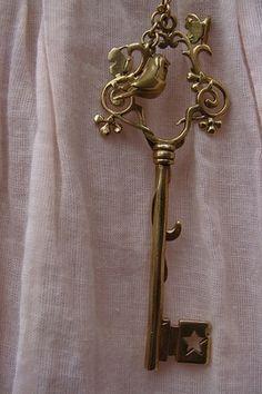 key with bird <3