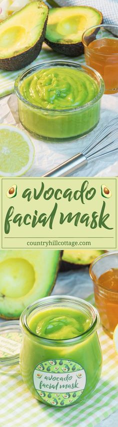 Revive your skin with a nourishing avocado facial mask! This facial mask is made with only 3 ingredients and will make your skin feeling nourished, replenished, and rested. Avocados are rich in vitamins E and B and have moisturising properties. Honey, especially raw and unpasteurised, is full of antioxidants, moisturises and helps to soothe irritations. Lemons are natural cleansers, and the vitamin C is said to protect your skin from the effects of ageing. #skincare #facialmask #avocado…