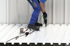 How to Paint a Colored Steel Roof